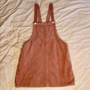 Forever 21 Overall Corduroy Dress